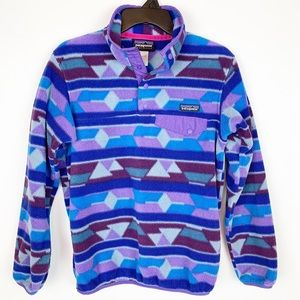 PATAGONIA SYNCHILLA SNAP PULLOVER SIZE XS